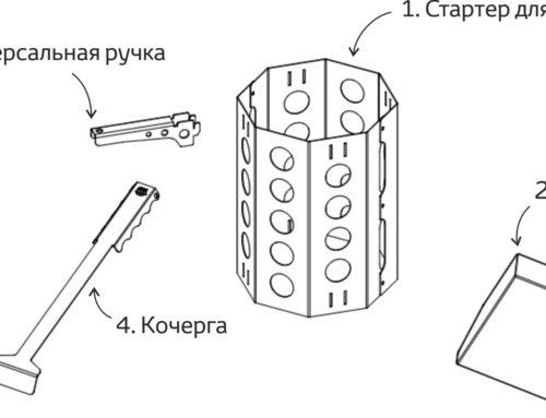 Набор аксессуаров для мангала